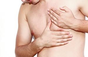 Fettabsaugen beim Mann - Lipomastie