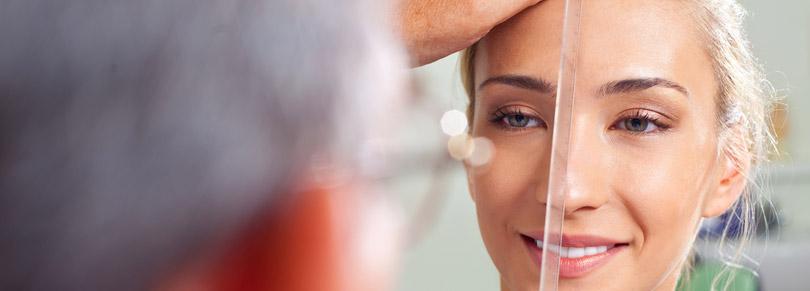 Vorbereitung vor einer Nasen-OP
